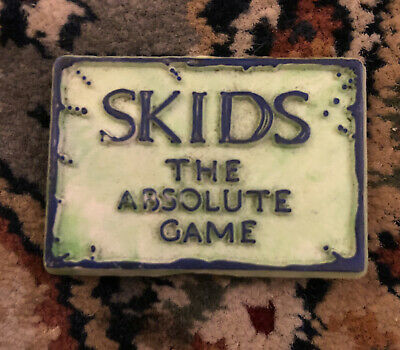 The Skids Absolute Game Tour Pin Badge 1980. • 5£