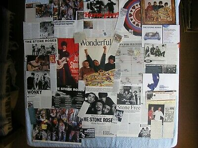 Stone Roses - Magazine Cuttings Collection - Photos, Clippings, Articles X34 • 2.94£