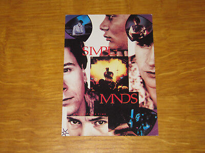 Simple Minds 2 - Vintage Postcard                       (promo) • 4.99£