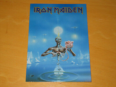 Iron Maiden - Seventh Son Of A Seventh Son - Vintage Postcard           (promo) • 4.99£