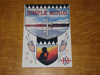 Simple Minds 1 - Vintage Postcard                       (promo) • 4.99£
