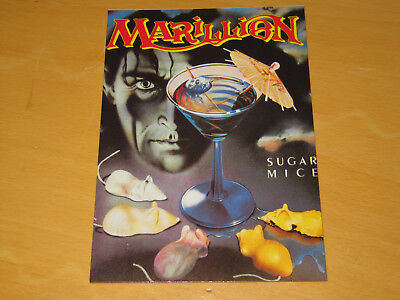 Marillion - Sugar Mice - Vintage Postcard                (promo) • 4.99£