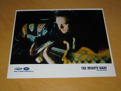 The Mighty Wah! - Original Uk Promo Press Photo (a)  • 9.99£