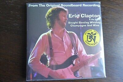 ERIC CLAPTON - ' Bought Whiskey Champagne & Wine' 2CD RARE & MINT • 35£