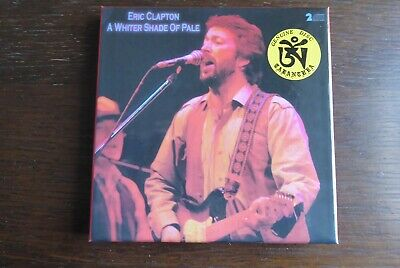ERIC CLAPTON - ' A Whiter Shade Of Pale' 2CD Box Set With Poster RARE & MINT • 40£