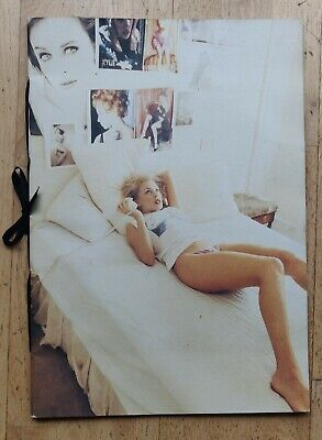 KYLIE MINOGUE 1994 Deconstruction PROMO PHOTO BOOK Original Box- Rare • 749.99£
