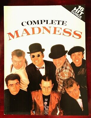 Complete Madness 1982 Songbook....very Rare...as New....ska.....two Tone • 49.99£