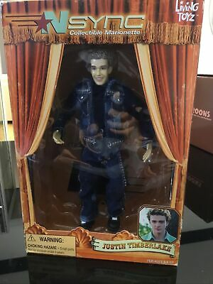 NSNYC JUSTIN TIMBERLAKE  DOLL-Collectable Marionette By Living Toyz 2000 • 4.47£