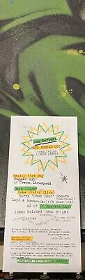 Bugged Out Cream Liverpool Flyer Choo Choo Dave Clarke Layo Luke Slater DJ Mix  • 3.99£