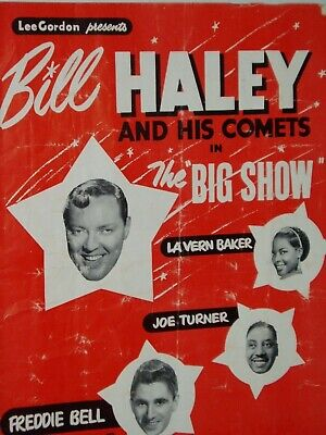 POP  PROGRAMME (Australia)..1957....BILL HALEY And His COMETS     & Others • 15£