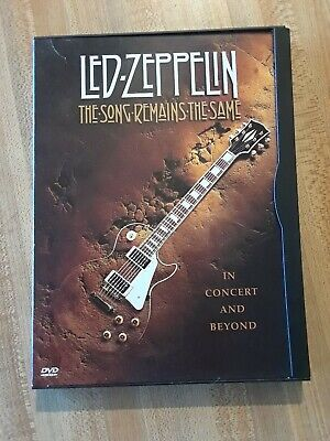 Led Zeppelin The Song Remains The Same DVD • 0.70£