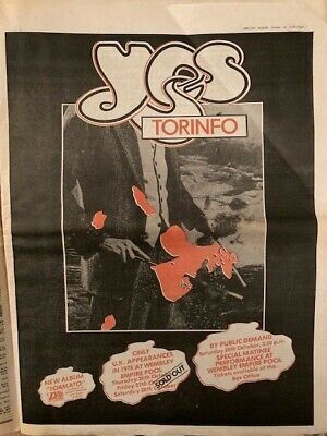 Yes Tormato Torinfo Original Press Advert Poster  • 12£