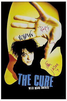 New Wave: The Cure * Wild Mood Swings * Promotional Poster 1996  12x18 • 9.01£