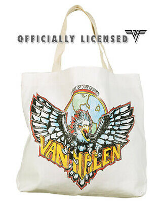 Van Halen Vintage 1984 Eagle Beach / Tote Bag - NEW Official, Free Shipping • 12.73£