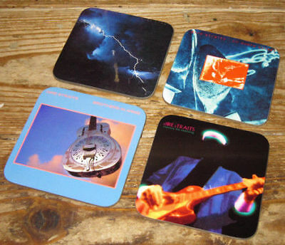 Dire Straits Mark Knopfler Album Cover COASTER Set • 7.99£