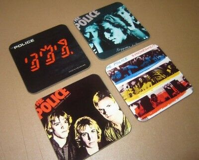 The Police Sting Album Cover COASTER Set • 7.99£