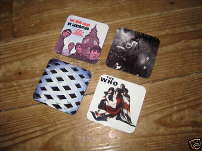 The Who Album Cover Drinks Coaster Set • 7.99£