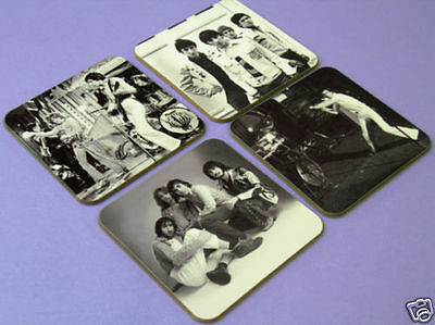 The Who Roger Daltrey Great BW Drinks COASTER Set • 7.99£