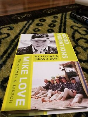 Signed Mike Love Book, Good Vibrations... • 38.61£