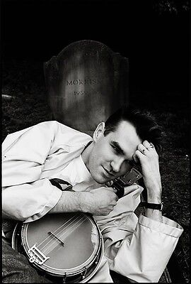Signed Morrissey Grave Yard Photo • 225£