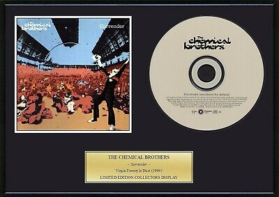 CHEMICAL BROTHERS / THE CHEMICAL BROTHERS - Framed CD Presentation Disc Display • 18.99£