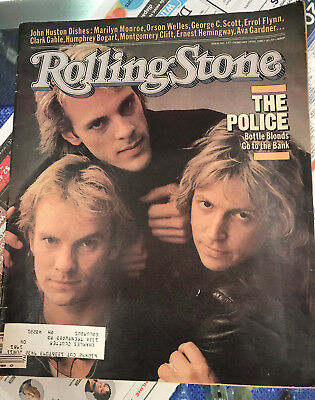 The Police Rolling Stone Magazine Issue 337 February 19, 1981 • 7.15£