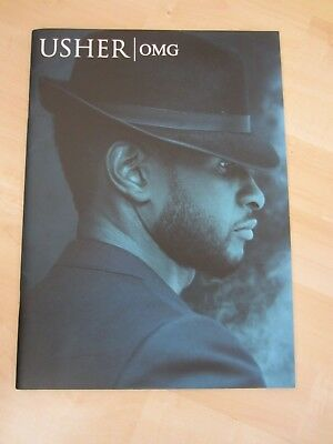 Usher OMG Tour 2010 Large Paperback Book * Excellent Condition * • 9.99£
