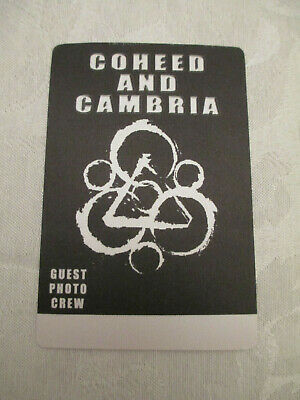 Coheed And Cambria - Backstage Pass • 7.82£