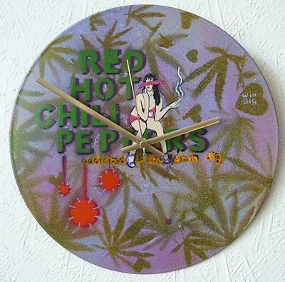 RED HOT CHILI PEPPERS Wall Clock..soundgarden .. NIRVANA.. Flea.. Neil Young  • 21.99£