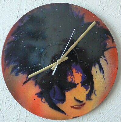 THE CURE..record Wall Clock...the Smiths..Bowie.. New Order..  Glastonbury  • 21.99£