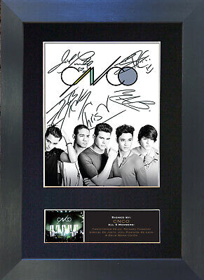 CNCO Signed Mounted Reproduction Autograph Photo Prints A4 781 • 5.99£