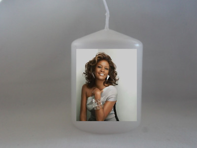 Unique Whitney Houston Candle Gift - Gift Wrapped  • 6.99£