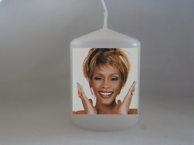 Unique Whitney Houston Singer Candle Gift - Gift Wrapped - Christmas Gifts  • 6.99£