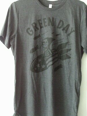 Green Day New Tour T Shirt Large Revolution Road American Idiot Dookie Warning • 14£
