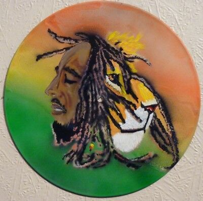 BOB MARLEY..wall Clock..the Wailers.. Cannabis...REGGAE..zion Lion..mods..ska..  • 19.99£
