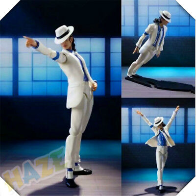 Michael Jackson MJ PVC Smooth Criminal Moonwalk Model Movable Figure New In Box • 20.79£