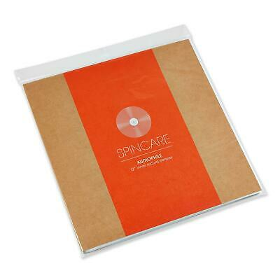 50x 12  Inch Anti Static Inner Vinyl LP Record Sleeves | SPINCARE AUDIOPHILE • 16.95£