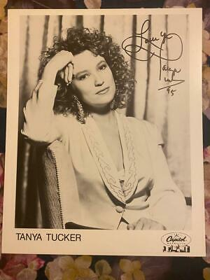 Tanya Tucker Signed Autographed Photo 10 X 8 - Country & Western Singer • 25.99£