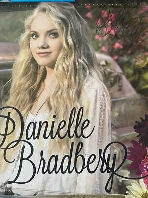 Danielle Bradbery Colour Signed Autographed Lithograph 18 X 18 • 10.99£