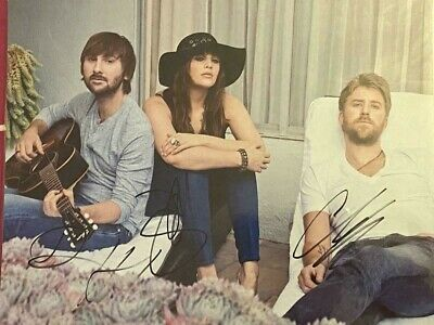 Lady Antebellum  10 X 8 Autographed Signed Photo • 75.99£