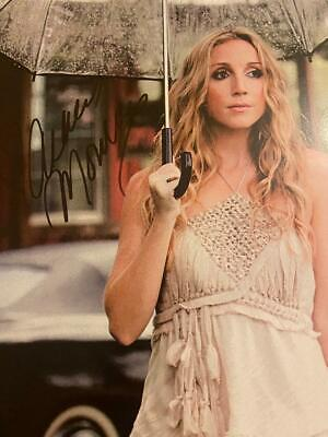 Ashley Monroe Signed Autographed Picture 18 X 12 (pistol  Annies) • 25.99£
