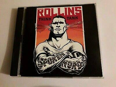 Henry Rollins Think Tank 2 Cd Promo 1998 Live Spoken Word Promotional • 19.98£