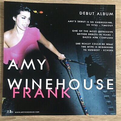 Amy Winehouse Promo Poster Double Sided Ultra Rare • 89.95£