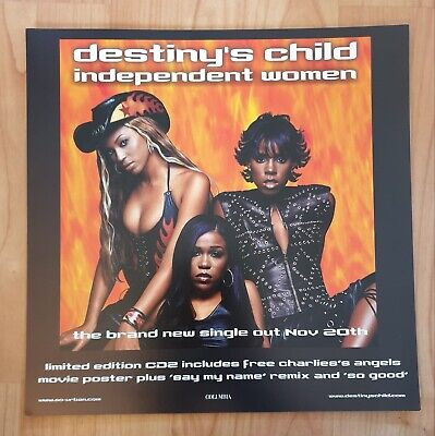 Destiny's Child Double Sided Promo Poster Ultra Rare  • 19.95£