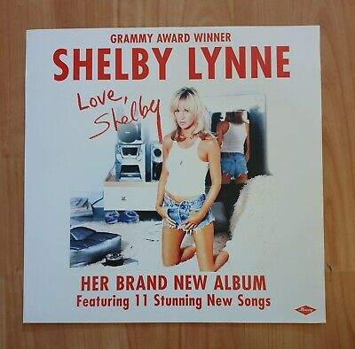 Shelby Lynne Promo Poster Ultra Rare  • 7.95£