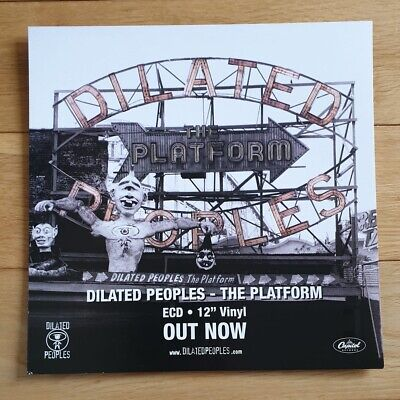 Dilated Peoples The Platform Promo Poster Ultra Rare  • 19.95£