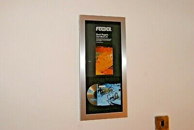 FEEDER Fully SIGNED Original Lineup Inc Jon Lee Poster BUCK ROGERS CD DISPLAY    • 79.99£