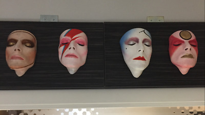 Rare Set Of Four David Bowie V & A Life Masks Sculptures Signed By Nick Boxall • 1,296£