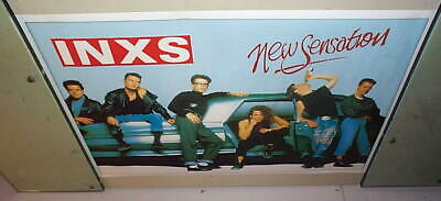 INXS New Sensation Group Vintage POSTER New Condition  • 7.93£