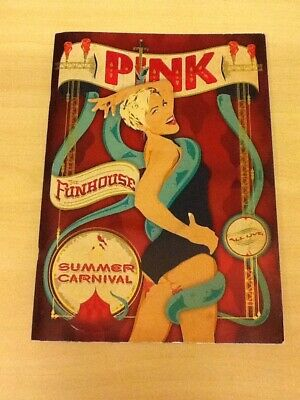 P!nk-(pink)-funhouse Summer Carnival-tour Programme 2010-revised 56 Pages-mint/m • 49.99£